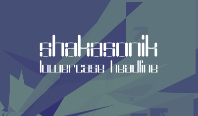 FREE Shakasonic Font