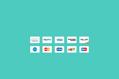 FREE Design Resources P.1 (Credit card icons)