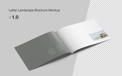 FREE Letter Landscape Mockup