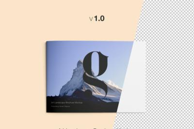 FREE A4 Landscape brochure