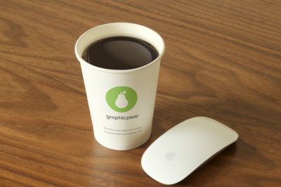 FREE Disposable Cup Mockup