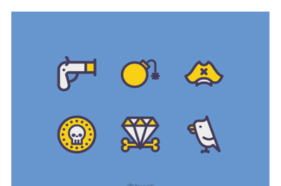 FREE Pirate Icons