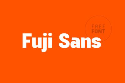 FREE Fuji Sans