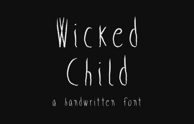 FREE Wicked Child font