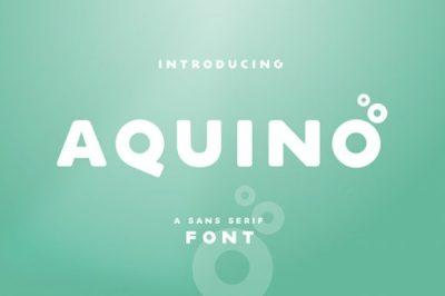 FREE Aquino Font