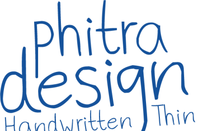 Phitradesign Handwritten Thin