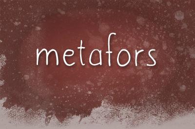 FREE Metafors font