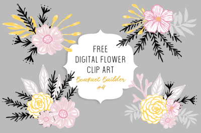 FREE Bouquet Builder #4