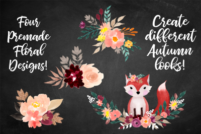 FREE Woodlands Fox & Florals