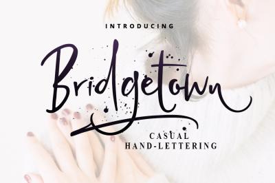 FREE Bridgetown Font