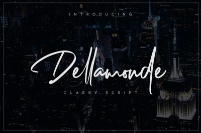 FREE Dellamonde Font