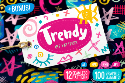 FREE Trendy Art Patterns
