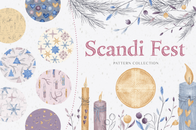FREE  Scandi Fest Patterns