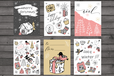 FREE Christmas Card Set