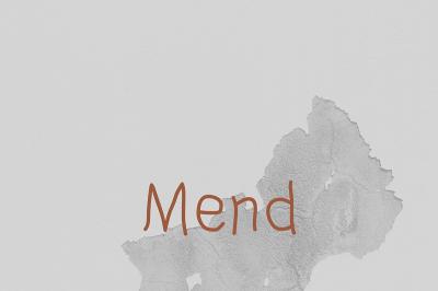 FREE Mend Font