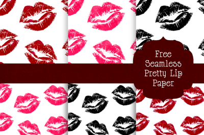 FREE Seamless Pretty Lip Paper