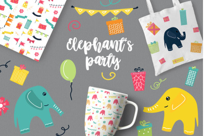 FREE Elephant's Party
