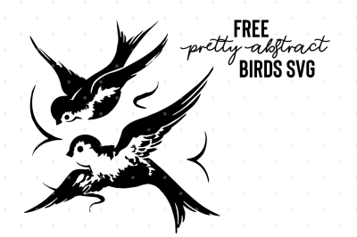 FREE Pretty Abstract Birds
