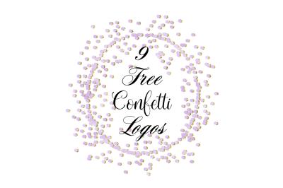 FREE Confetti Logos
