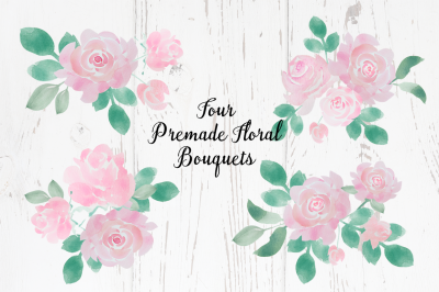 Free Pink Floral Roses