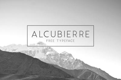 FREE Alcubierre Font