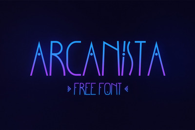 Free Arcanista Font