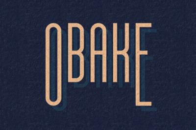 Free Obake Font