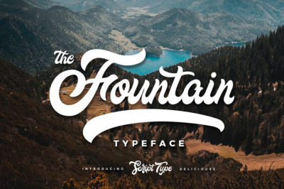 FREE The Fountain Typeface