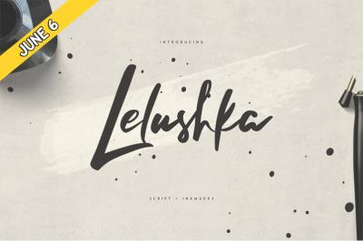 FREE Lelushka Script Font