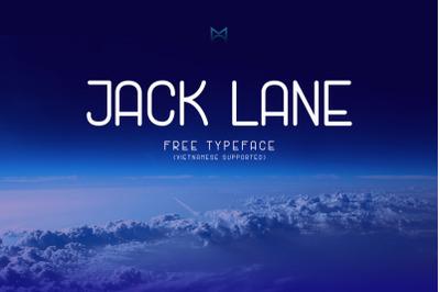 FREE Jack Lane Typeface