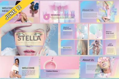 FREE Stella Keynote Template