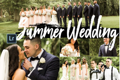 FREE Summer Wedding Theme LR Collection