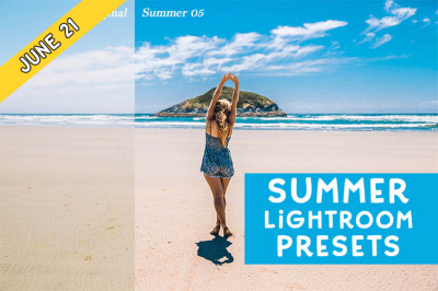 FREE Summer Lightroom Presets