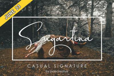 FREE Sugartina Font