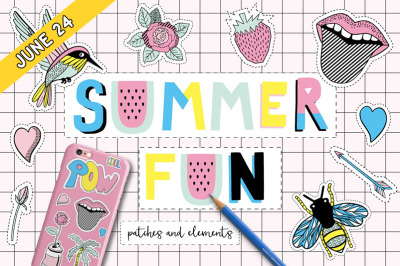 FREE Summer Fun: Patchers and Elements