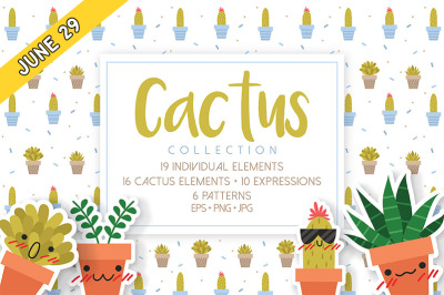 FREE Cactus Collection