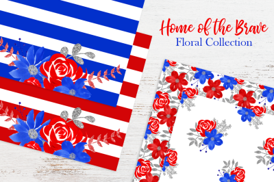 FREE Home of the Brave: Floral Collection