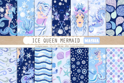 FREE Ice Queen Mermaid