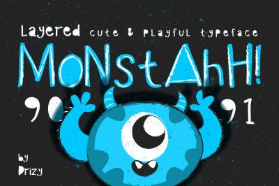 FREE Monstah Typeface