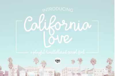 FREE California Love Font