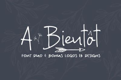 FREE A Bientot Font