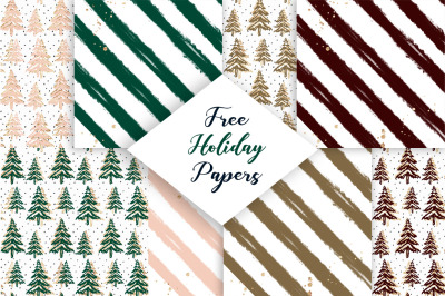 FREE Holiday Papers