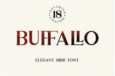 FREE Buffallo Font