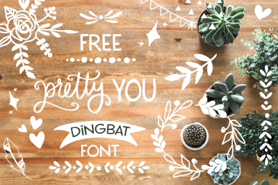 FREE Pretty You Dingbat Font