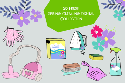FREE So Fresh Spring Cleaning Digital Pack