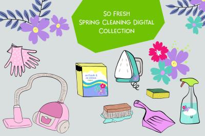 FREE So Fresh Spring Cleaning Digital Pack