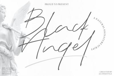 FREE Black Angel Font