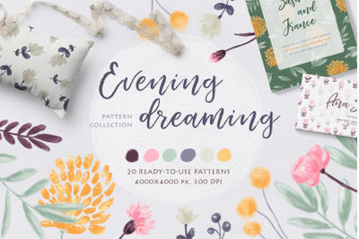 FREE Evening Dreaming Patterns