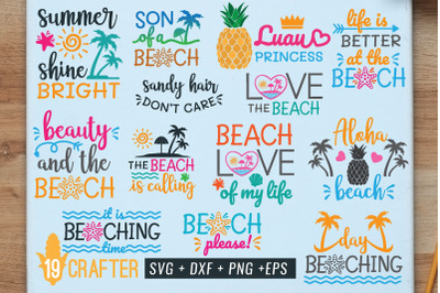 FREE Summer SVG Pack