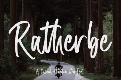 FREE Ratherbe Font
